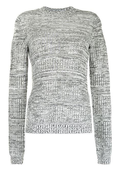 Maglione con spacco laterale grigio - donna PROENZA SCHOULER | WL2137679KS057102