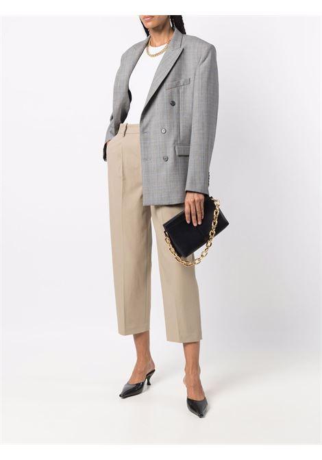 Beige cropped wide-leg trousers - women  PT01   VSDAZ00STDAK090030