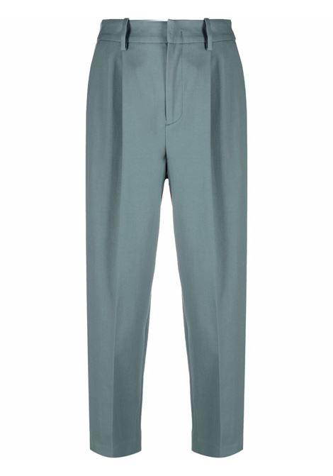 Pantaloni a gamba ampia crop in beige - donna PT01 | VSDAZ00STDAK090390