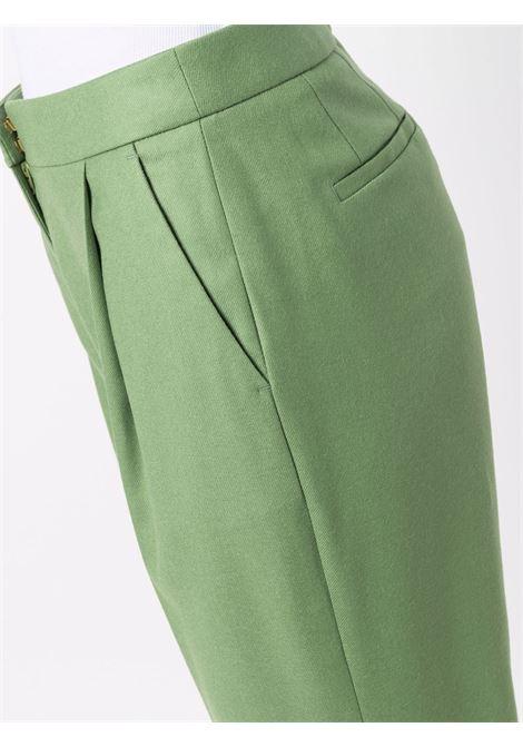 Pantaloni svasati in verde - donna PT01 | VSVVZ00STDRG090420