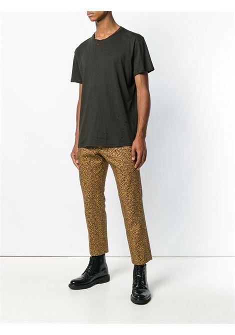 Black distressed T-shirt - men R13 | R13M301301
