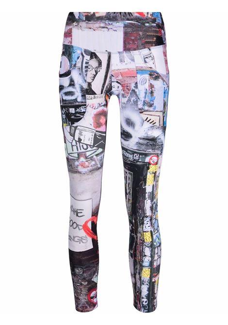 Graphic-print leggings in multicolour - women R13   TFW001177