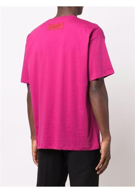Nebraska T-shirt in pink - men  RAF SIMONS | 212M123190010033