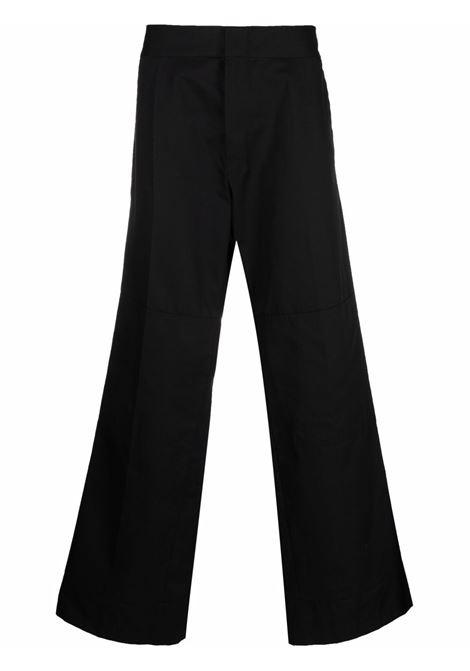 Wide-leg tailored trousers black - men RAF SIMONS | 212M361150200099