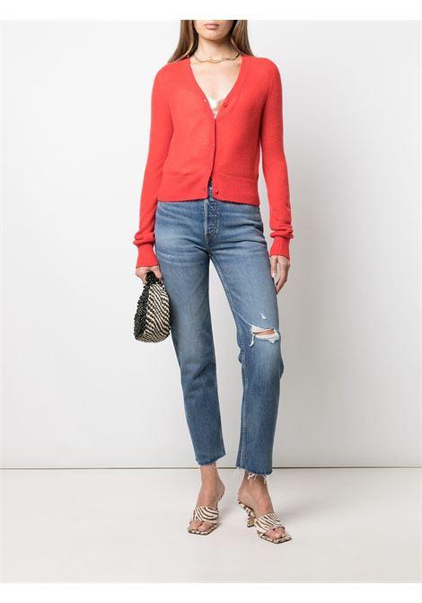 Jeans a vita alta in blu - donna RE/DONE   1613WSTV27WRNRCHINDG
