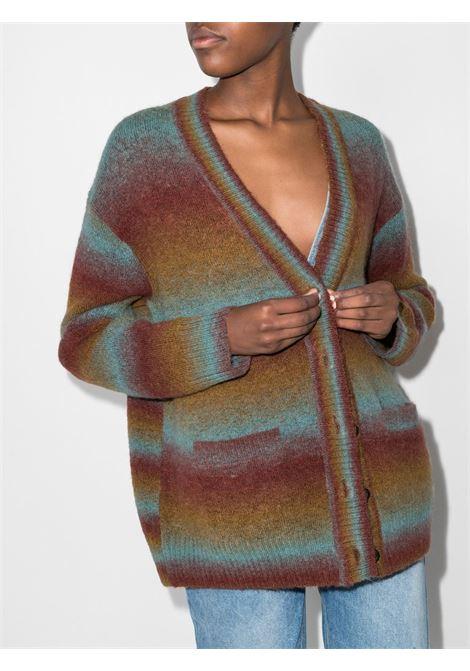 90s oversized cardigan in multicolour - women RE/DONE   56010W9CARBRCKMLT