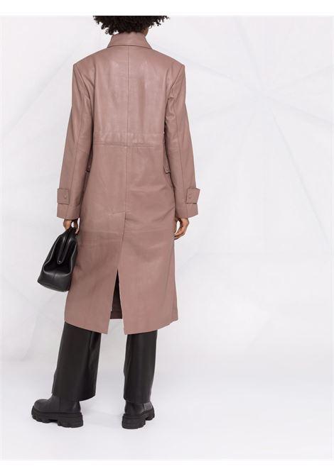 Cappotto doppiopetto in rosa - donna REMAIN | RM460161510