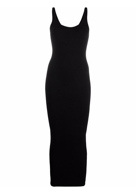Abito midi con dettaglio cut-out in nero - donna REMAIN | RM4831000