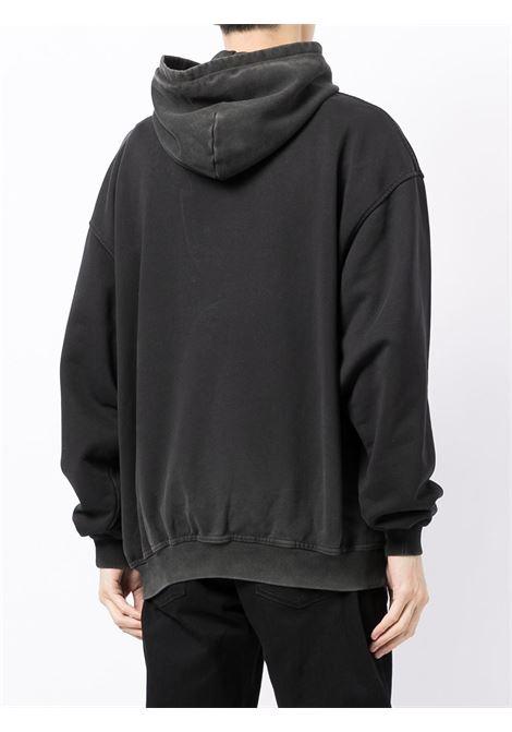 Logo-print sweatshirt in black - men  REPRESENT   M0414603