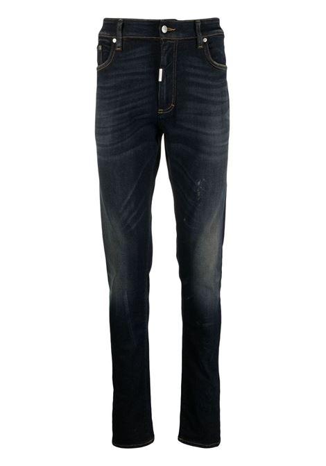 Slim-cut jeans in indigo blue - men  REPRESENT | M0704324