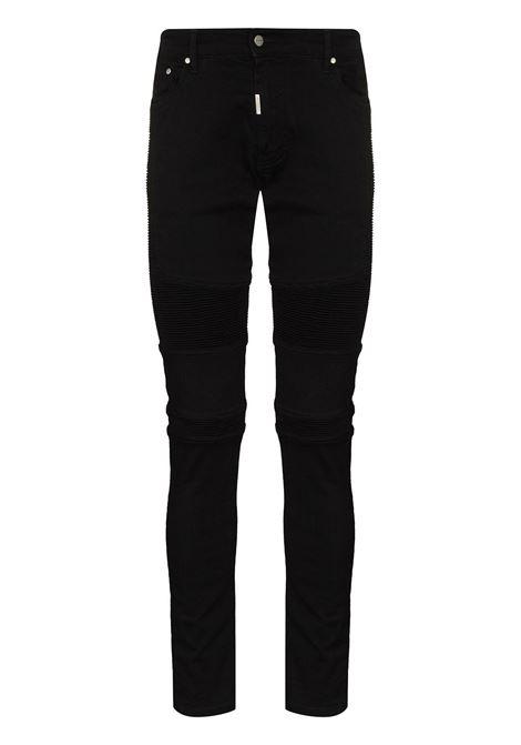 Biker skinny jeans in black - men  REPRESENT | M0704501