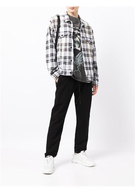 Straight-leg trousers in black - men  REPRESENT   M0809301