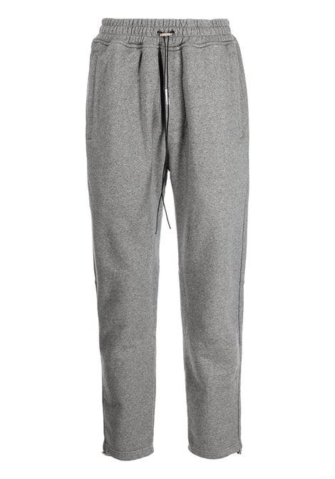 Drawstring-waist trousers in grey - men REPRESENT   M0809305