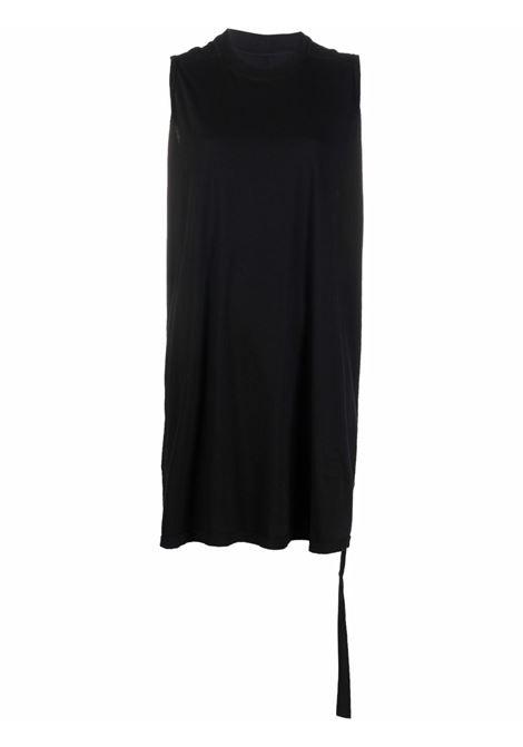 Sleeveless long-length top in black - women  RICK OWENS DRKSHDW | DS02A3104RN09