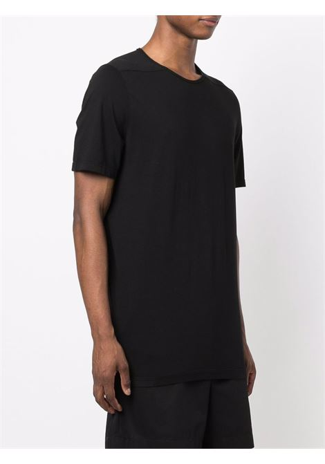 Solid-colour crewneck T-shirt in black - men  RICK OWENS DRKSHDW   DU02A3250RN09
