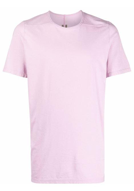 Round neck T-shirt in dirty pink - men  RICK OWENS DRKSHDW   DU02A3250RN83
