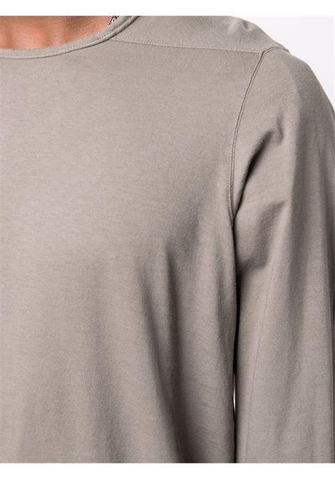 Casual jersey t-shirt in dust grey- men  RICK OWENS DRKSHDW   DU02A3260RN34