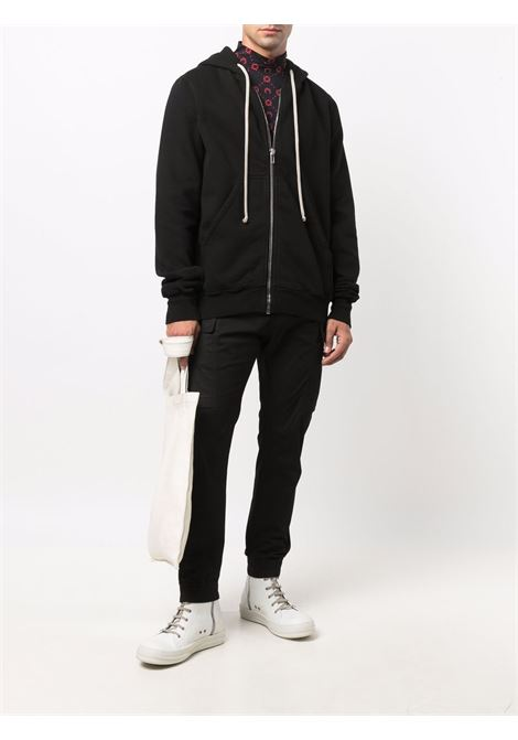 Zipped sweatshirt in black - men  RICK OWENS DRKSHDW   DU02A3276F09