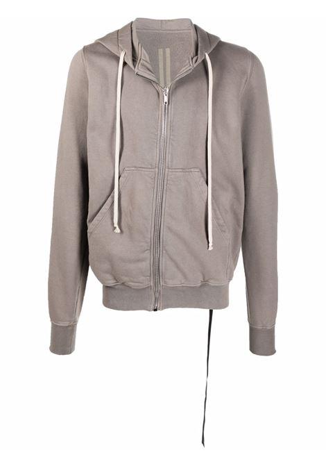 Zipped sweatshirt in dust grey - men  RICK OWENS DRKSHDW   DU02A3276F34