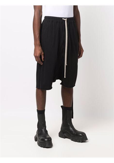 Bermuda al ginocchio in nero - uomo RICK OWENS DRKSHDW | DU02A3380RN09
