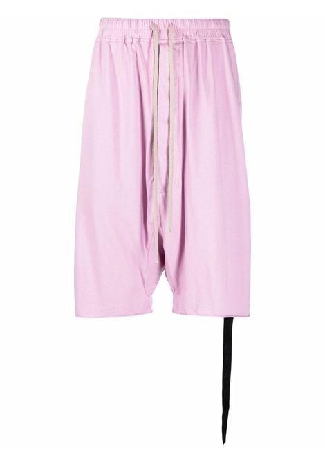 Bermuda al ginocchio in rosa - uomo RICK OWENS DRKSHDW | DU02A3380RN83