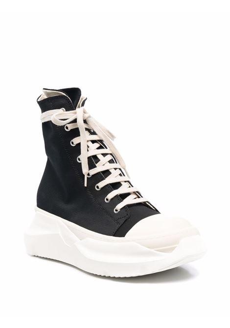 Abstract high-top sneakers in black - men  RICK OWENS DRKSHDW   DU02A3840FC9111