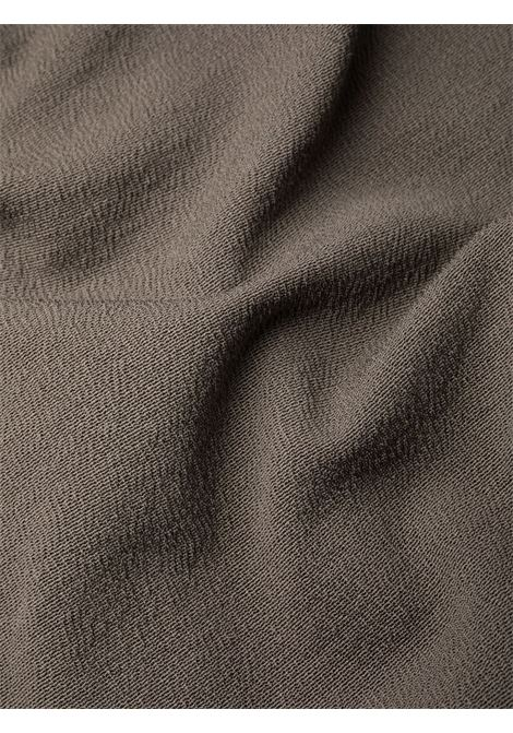 Abito con maniche ad aletta in grigio - donna RICK OWENS | RP02A7525GG34
