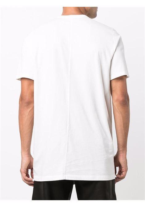 T-shirt classica a maniche corte in bianco - uomo RICK OWENS | RU02A5264JA11