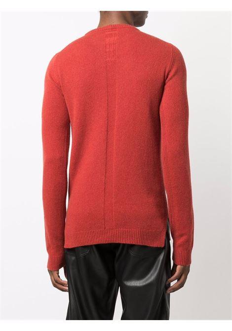 Maglione a girocollo in rosso - uomo RICK OWENS | RU02A5684WSBR73