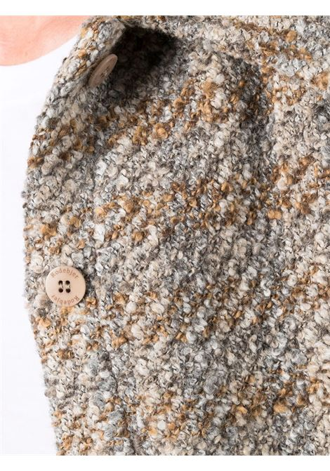Giacca a quadri in tweed multicolore - donna RODEBJER | 21201091019