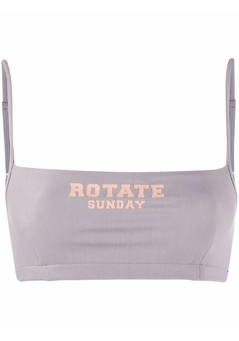 Top crop grigio chiaro  - donna ROTATE SUNDAY | Top | RT501171502