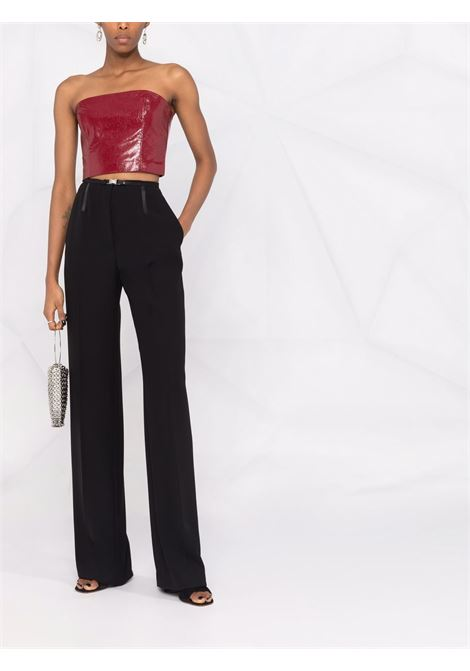 Top a fascia in ecopelle in rosso - donna ROTATE | RT415191934
