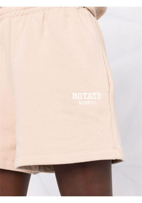 Pantaloncini con logo donna ROTATE SUNDAY   RT475151304