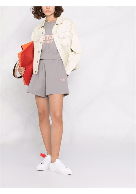 Pantaloncini con logo donna ROTATE SUNDAY | 20smus171502