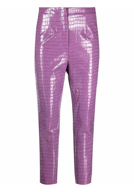 Pantaloni skinny Rotie con effetto coccodrillo in viola - donna ROTATE | RT548183015