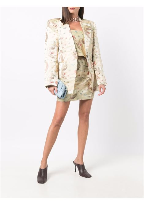 Giacca con stampa in crema - donna ROTATE | RT645130607