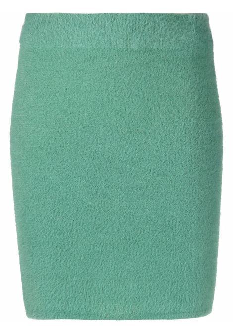 Minigonna aderente in verde - donna ROTATE | RT682165917