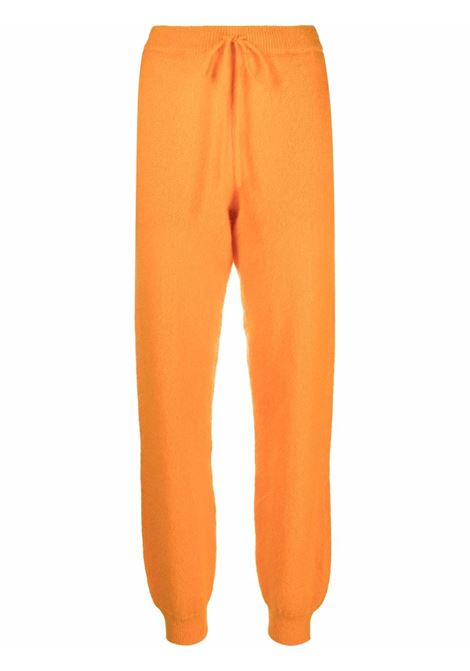 Pantaloni sportivi con coulisse in arancione - donna ROTATE | RT688151157