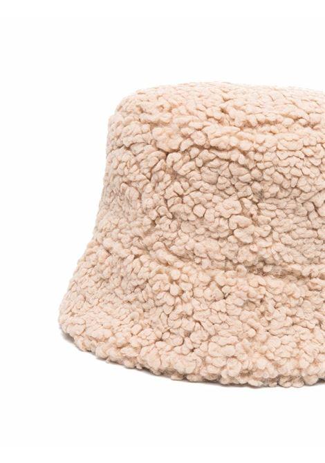 Cappello bucket Teddy Bear in beige - donna RUSLAN BAGINSKIY | BCT036PWRBBGE