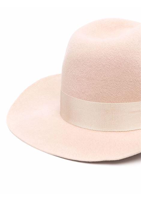 Cappello da cowboy in beige - donna RUSLAN BAGINSKIY | CWB032FBGE
