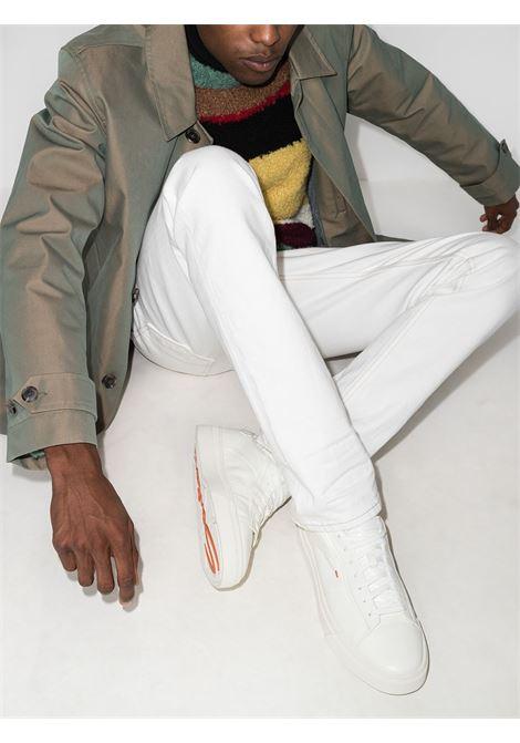 Sneakers darts in bianco -uomo SANTONI | MBGT21553PNNGNHRI50