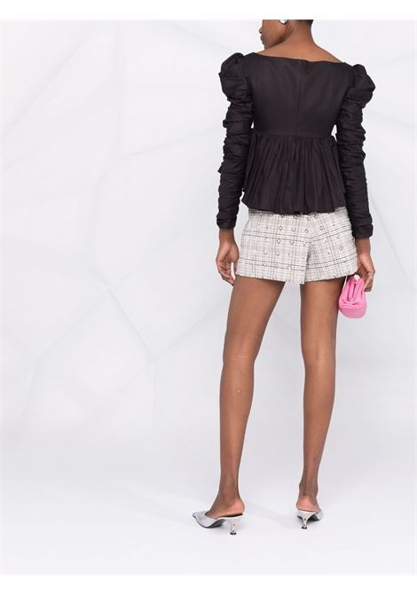 Shorts con paillettes in grigio - donna SELF-PORTRAIT | AW21141MLT