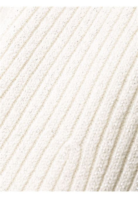 Abito a maniche lunghe bianco- donna SELF-PORTRAIT | AW21143CRM