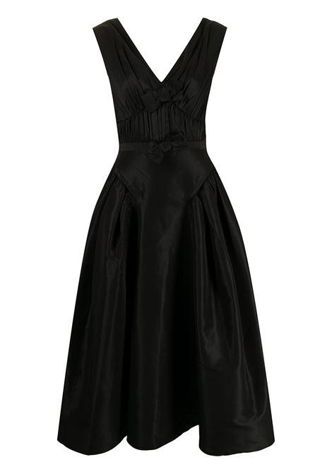Bow-detail sleeveless dress black - women SELF-PORTRAIT | Dresses | PF21023MBLK