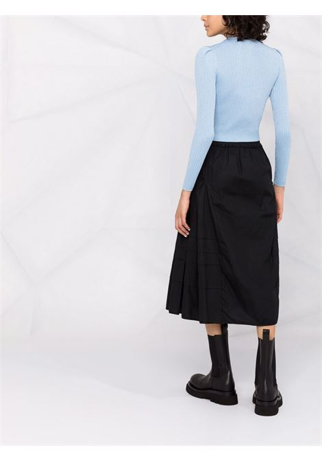 Lace collar knitted jumper SELF-PORTRAIT   PF21078TBL