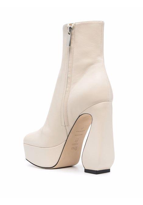 Stivaletti con tacco alto in bianco - donna SI ROSSI | A95630MNAG019180