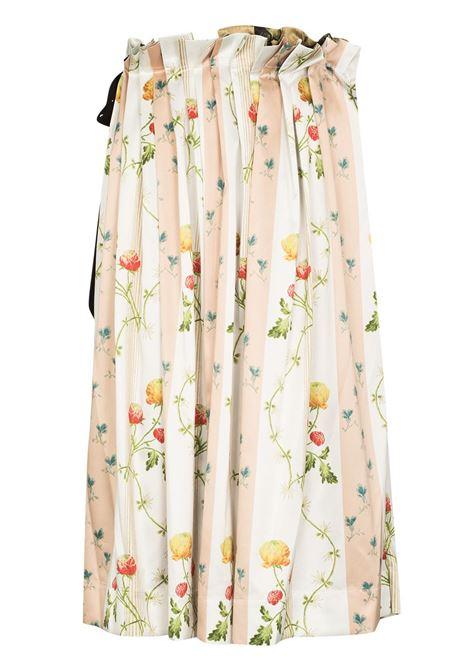 Gonna midi a fiori multicolore - donna SIMONE ROCHA   30360461MLT