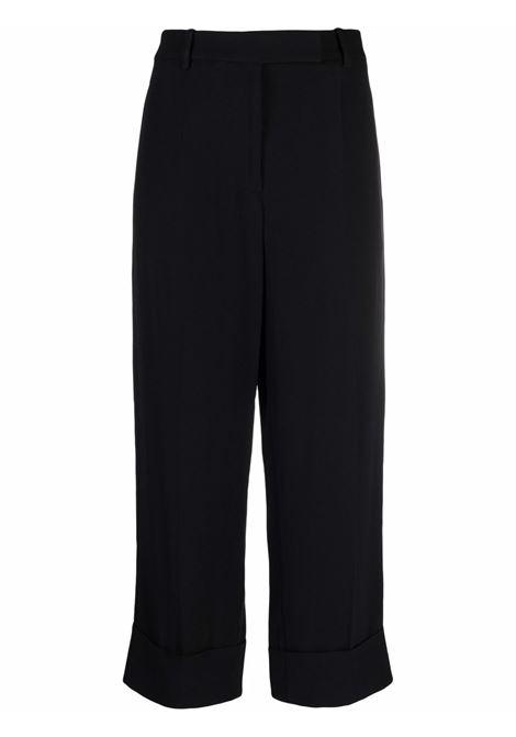 Pantaloni crop a gamba dritta in nero - donna SIMONE ROCHA   40200203BLK