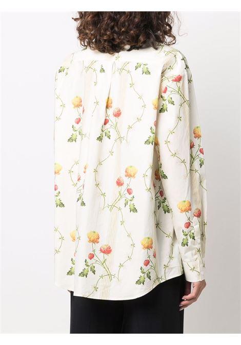 Camicia a fiori- donna SIMONE ROCHA | 50620445CRNFLWR