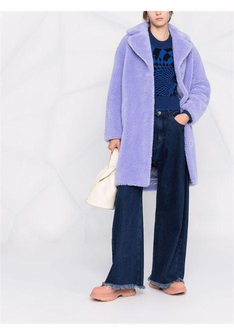 Cappotto di shearling sintetico Camille in lilla -donna STAND STUDIO | 611229040020400